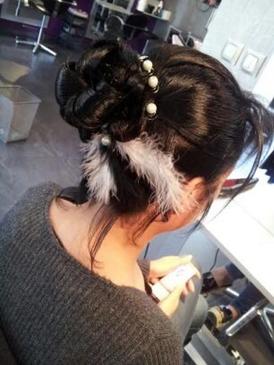 exemple de coupe de cheveux pour un mariage